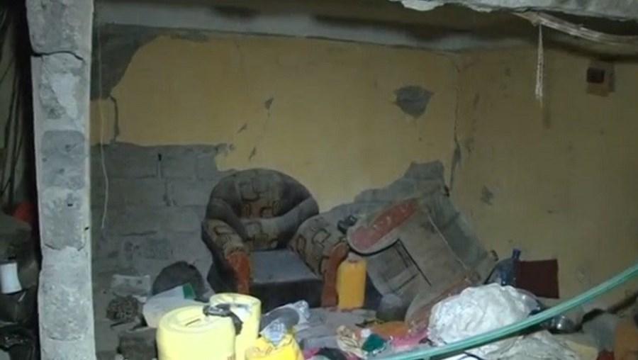 O colapso deixou pelo menos 15 pessoas feridas