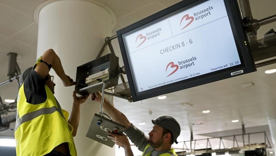 """O responsável da gestora do aeroporto, Arnaud Feist, diz que a abertura """"requereu um enorme esforço de centenas de pessoas"""""""