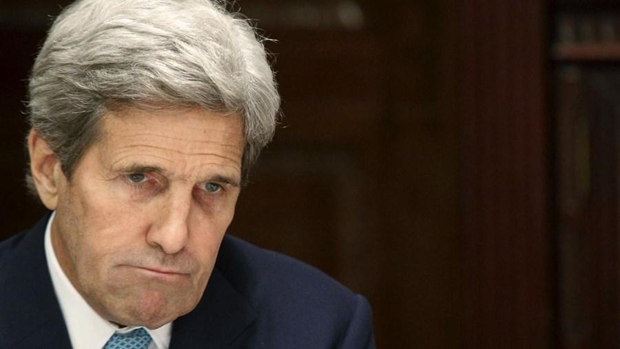 O secretário de Estado norte-americano John Kerry