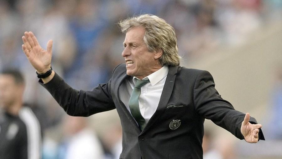 """""""A faltar duas jornadas, com a nossa vitória, a dúvida sobre o campeão persiste, agora a dúvida sobre quem é a melhor equipa ninguém tem, porque o Sporting confirmou este sábado que é a melhor equipa do campeonato"""", declarou Jorge Jesus"""