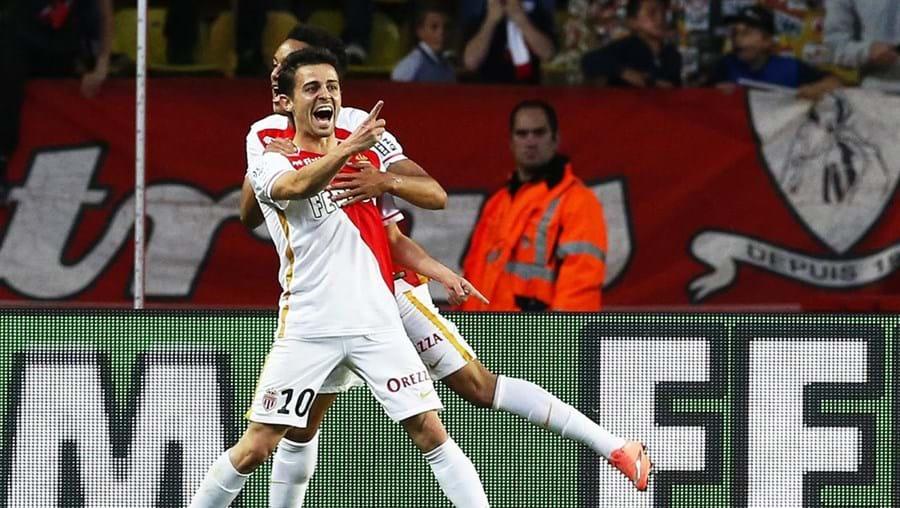 O português Benardo Silva marcou na vitória do Mónaco de Leonardo Jardim na receção ao Guingamp, por 3-2