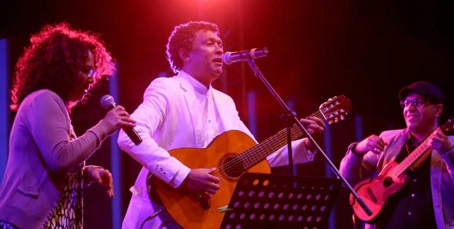 Tete Alhinho, Mario Lucio ( ministro da cultura) e Jose del Pino