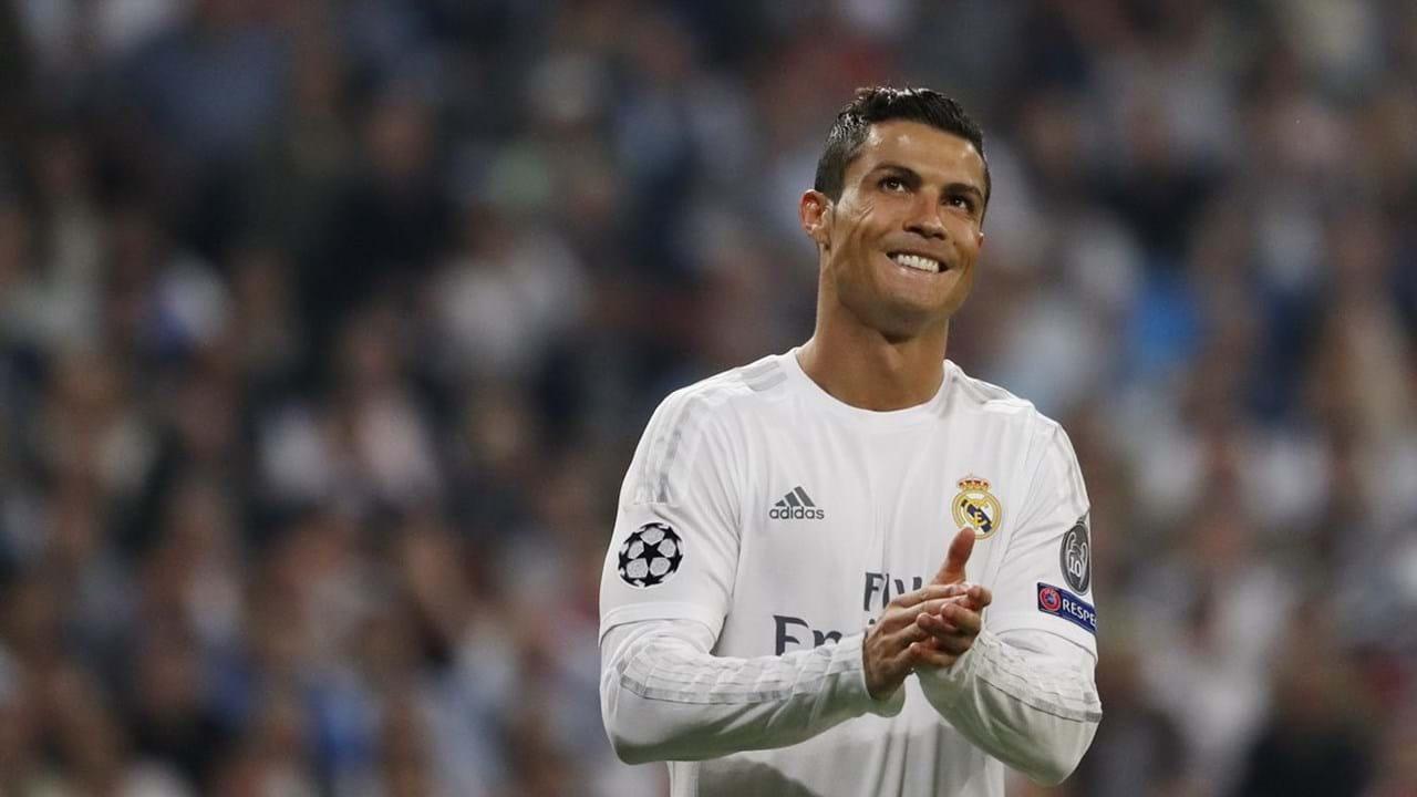 Leilão Camisa Real Cristiano Ronaldo