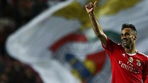 Jonas quer mais do Benfica na Liga dos Campeões
