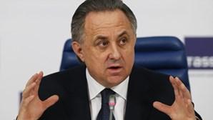 """Ministro dos Desportos da Rússia admite """"erros graves"""""""
