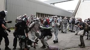 Polícia alemã detém 120 ativistas em manifestação