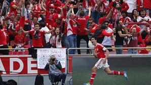 Benfica não treme e faz a festa na Luz
