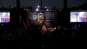 Benfica junta-se aos adeptos no Marquês