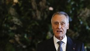 """Cavaco Silva diz que tempos têm sido """"pacatos"""""""