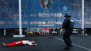 Estádios do Euro 2016 são alvos de atentados