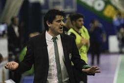 Nuno Dias, treinador de futsal do Sporting