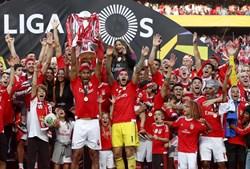 O Benfica terminou a Liga com 88 pontos em 102 possíveis, perdendo, apenas, 14 pontos na prova