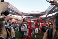 'É mágico, não se esquece', disse Rui Vitória no final da partida deste domingo frente ao Nacional