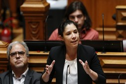 Joana Mortágua, deputada do Bloco de Esquerda