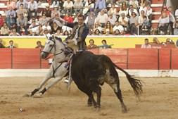 Forcado, pega, Moita, corrida de touros, touros, tauromaquia, José Maria Ferreira