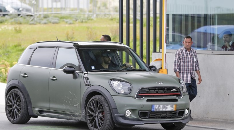 Picture of his Mini Countryman   car