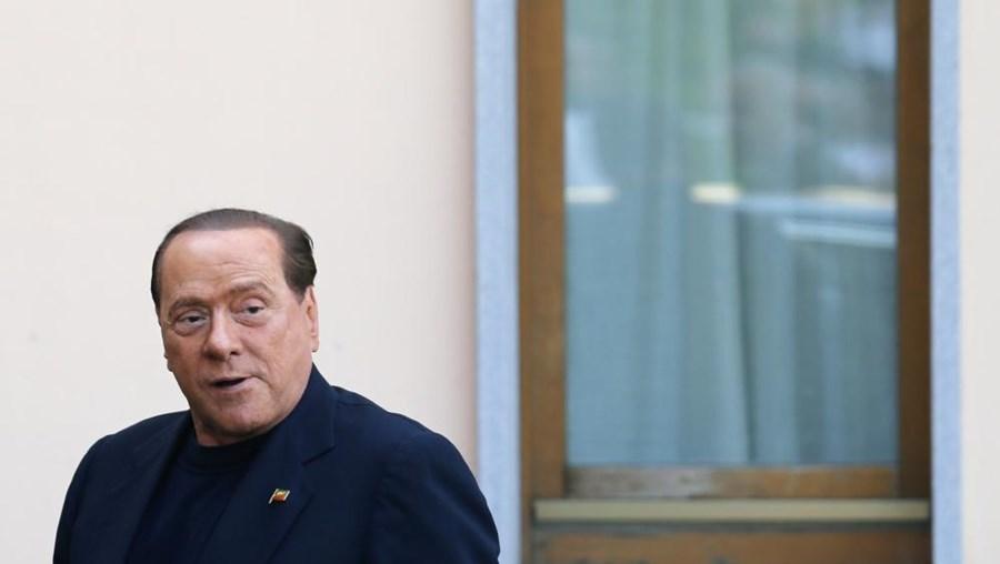 O antigo primeiro-ministro italiano Silvio Berlusconi