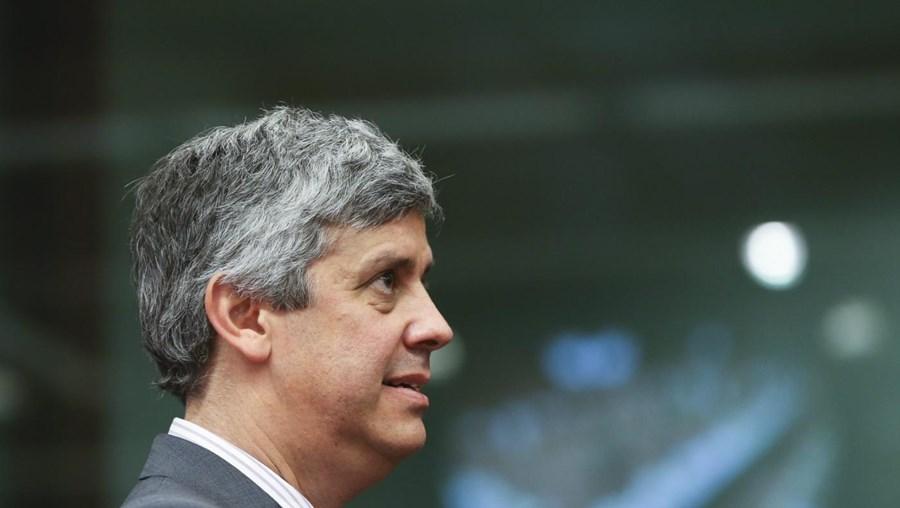 O ministro das Finanças português Mário Centeno
