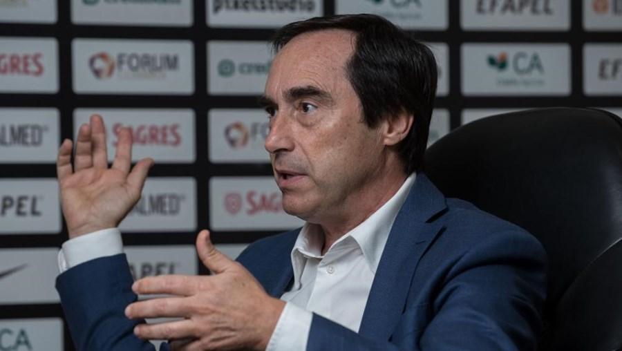 José Eduardo Simões, presidente demissionário da Académica