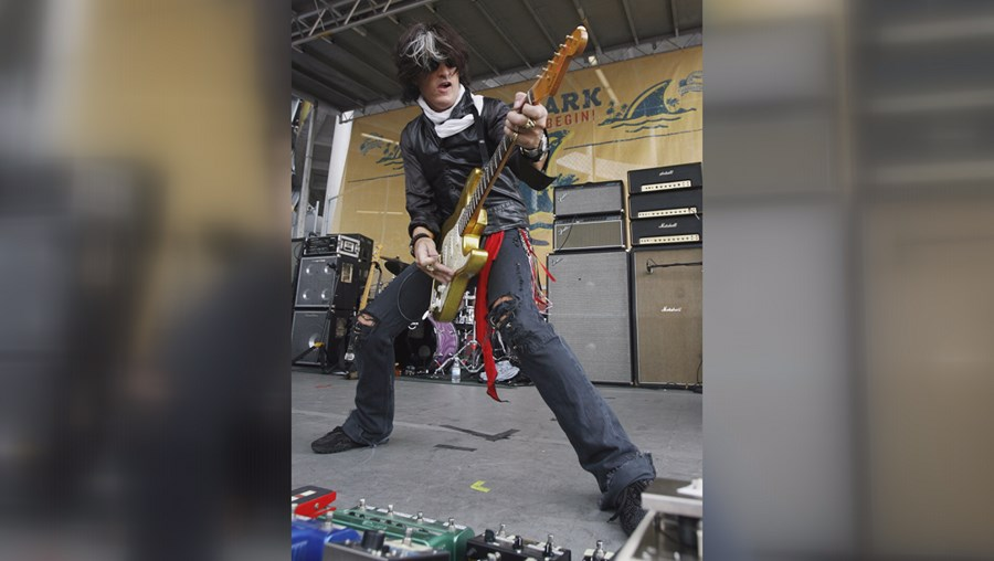 Joe Perry, guitarrista dos Aerosmith, juntou-se aos Hollywood Vampires