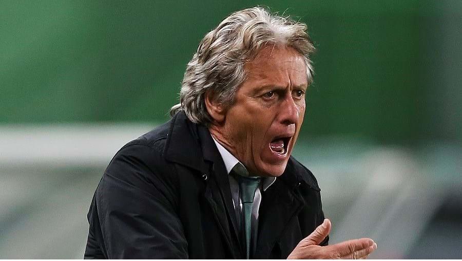 Jorge Jesus mostrou-se surpreendido com a evolução rápida do Sporting