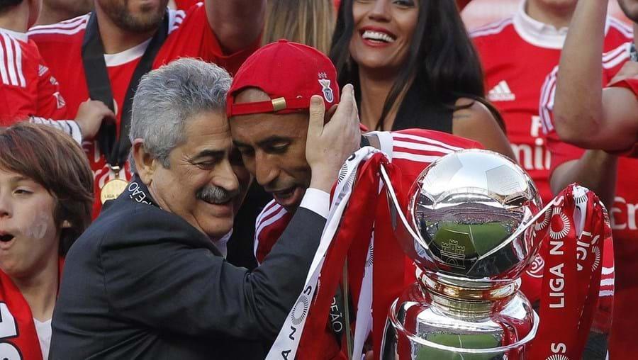 """""""Respeitamos todos os adversários e no fim fazemos contas. Batemos o recorde de pontos. É um momento feliz"""", destacou Luís Filipe Vieira"""