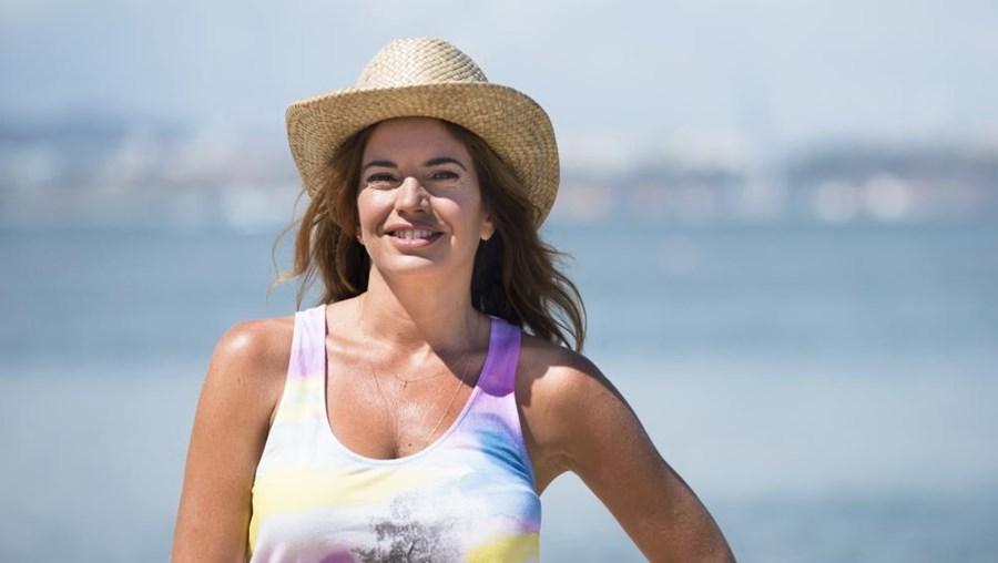 Apresentadora Bárbara Guimarães