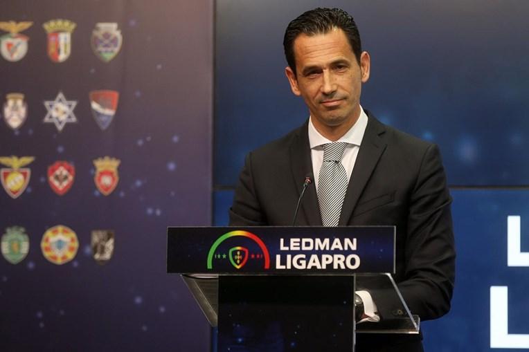 O presidente da Liga De Clubes, Pedro Proença