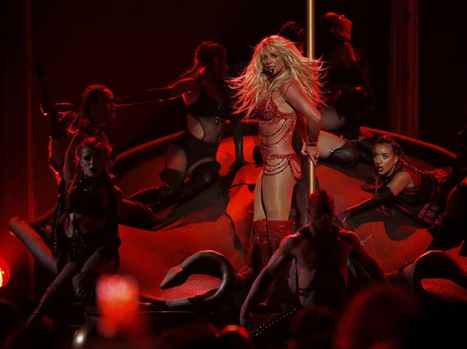 Spears recebeu o Millennium Award