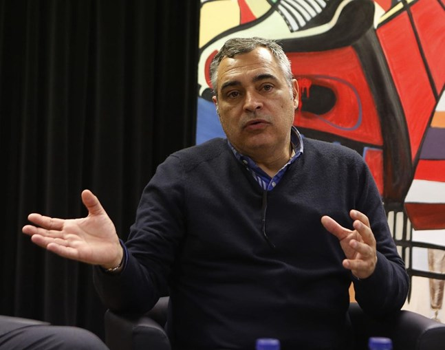 O treinador José Couceiro
