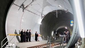 Luz ao fundo do (longo) túnel no coração da Europa