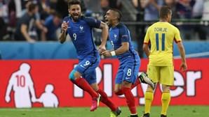 França venceu Roménia por 2-1