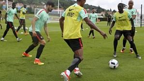 Seleção portuguesa na máxima força a três dias da estreia