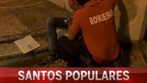 Bombeiros nos Santos Populares