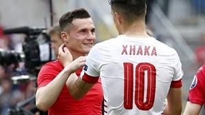 Xhaka versus Xhaka no Euro2016