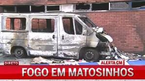 Fogo em Matosinhos