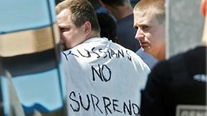 Dois adeptos russos presos em Lille