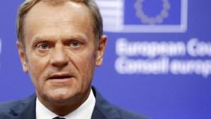 Tusk promete trabalhar por uma UE unida