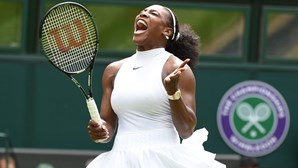 Serena Williams nas meias-finais de Wimbledon