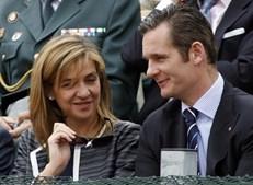 Infanta Cristina de Espanha com o marido Iñaki Urdangarín