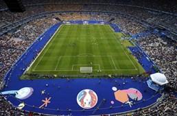 O palco do jogo de abertura e da final do Campeonato da Europa de futebol