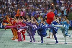 Imagens da cerimónia de abertura do Euro2016
