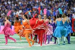 Espetáculo animado animou milhões de pessoas antes do arranque do Euro2016