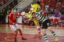 Sporting adiantou-se no marcador aos dois minutos