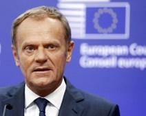 O presidente do Conselho Europeu, Donald Tusk