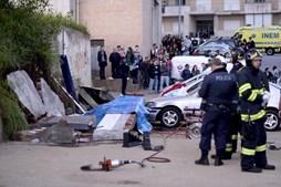 Três pessoas perderam a vida em queda de muro em Braga