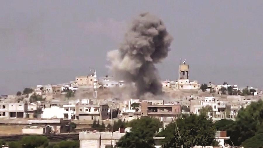 Ataques aéreos contra civis na Síria foram o tema da reportagem que valeu a multa de 20 mil euros à TVI