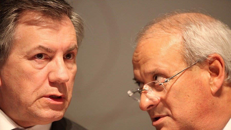 Armando Vara e Carlos Santos Ferreira foram nomeados para a administração da Caixa Geral de Depósitos em 2005 pelo então ministro das Finanças, Teixeira dos Santos