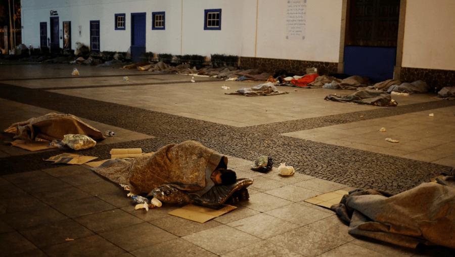 Todos os mortos do frio eram sem abrigo que viviam nas ruas
