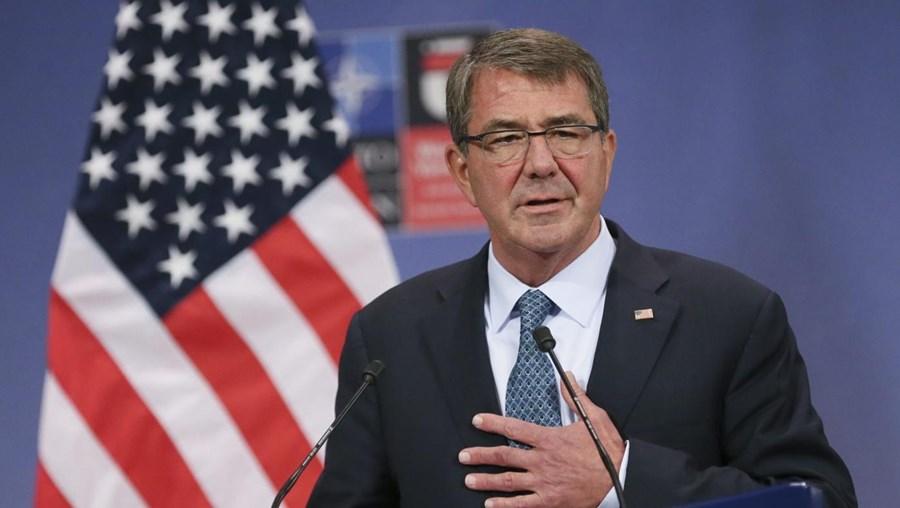 O secretário da Defesa norte-americano, Ashton Carter